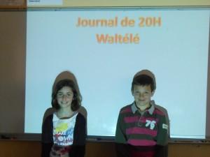 Ines et Maxime en répétition.