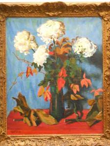 Auguste Herbin, Les chrysanthémes