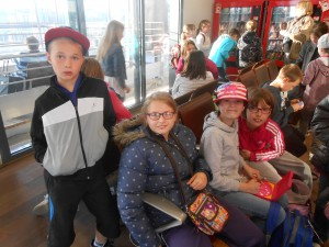 Départ à la gare TGV